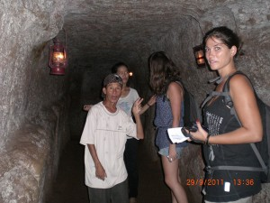 DMZ tour – Vinh Moc Tunnel